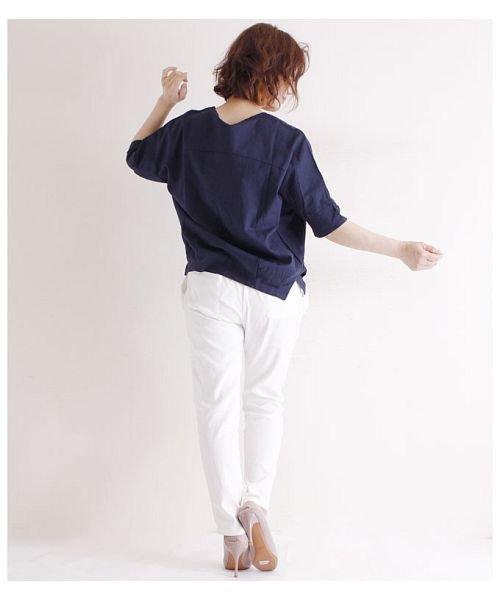 Sawa a la mode(サワアラモード)/立体的な花刺繍のドルマンスリーブトップス/mode-4927_img04