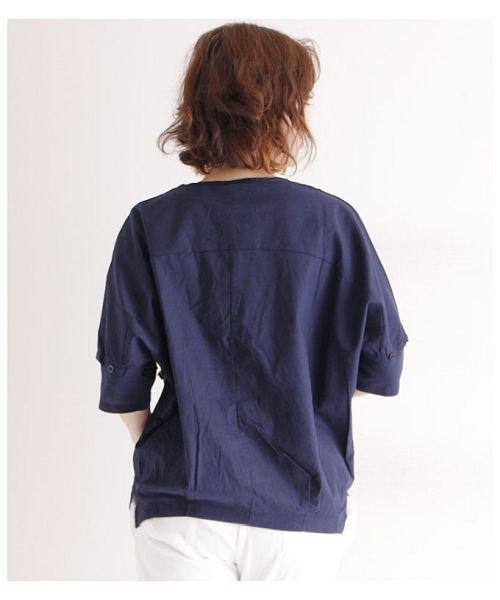 Sawa a la mode(サワアラモード)/立体的な花刺繍のドルマンスリーブトップス/mode-4927_img12