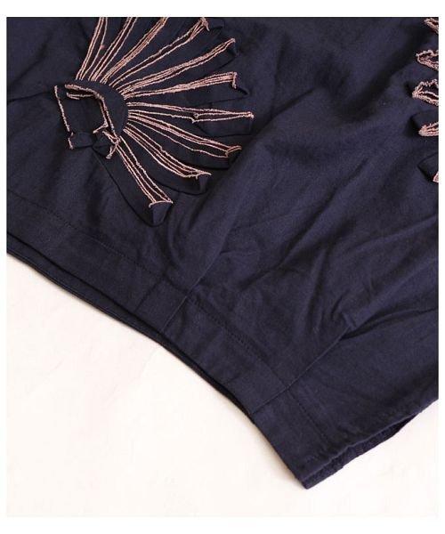 Sawa a la mode(サワアラモード)/立体的な花刺繍のドルマンスリーブトップス/mode-4927_img14