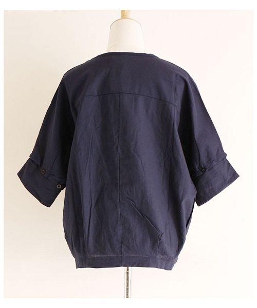 Sawa a la mode(サワアラモード)/立体的な花刺繍のドルマンスリーブトップス/mode-4927_img18