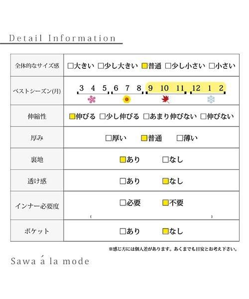 Sawa a la mode(サワアラモード)/レースレイヤードニットトップス/mode-5570_img19
