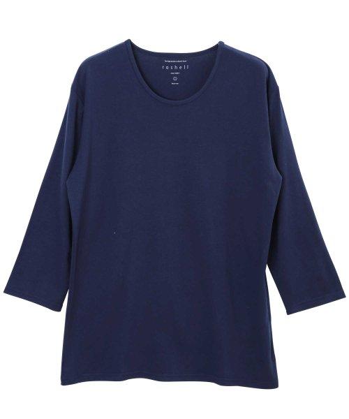 JIGGYS SHOP(ジギーズショップ)/Uネック無地7分袖Tシャツ / 七分袖 Tシャツ メンズ 無地 7分袖 uネック/204807_img08