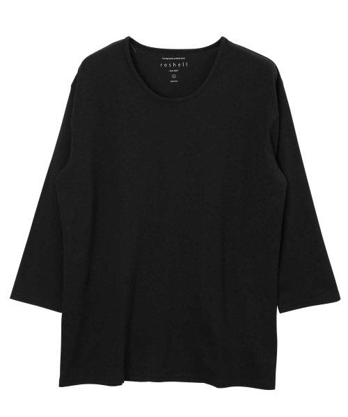JIGGYS SHOP(ジギーズショップ)/Uネック無地7分袖Tシャツ / 七分袖 Tシャツ メンズ 無地 7分袖 uネック/204807_img10