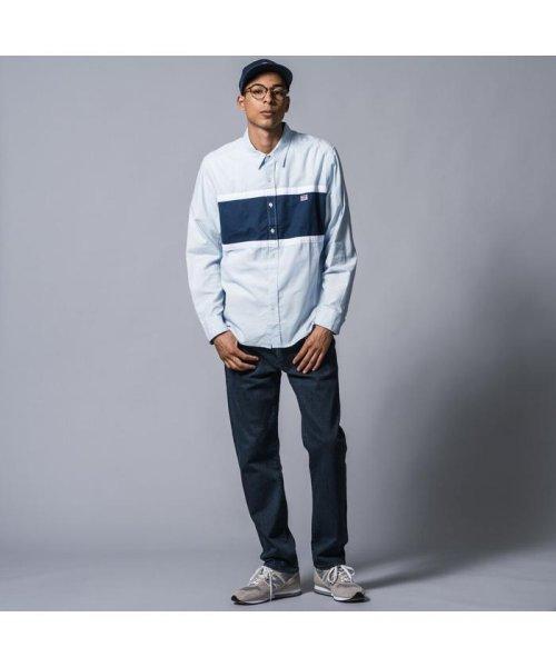 Levi's(リーバイス)/カラーブロックシャツ PACIFIC NO PKT SKYWAY/798220000_img01