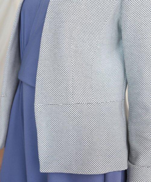Bou Jeloud(ブージュルード)/入学式・卒業式に≪2020SS先行予約≫【WEB限定】ニットツイードカラーレスジャケット/701131_img09