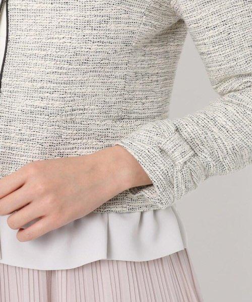 Couture Brooch(クチュールブローチ)/フリル付きノーカラージャケット/20200150848011_img05