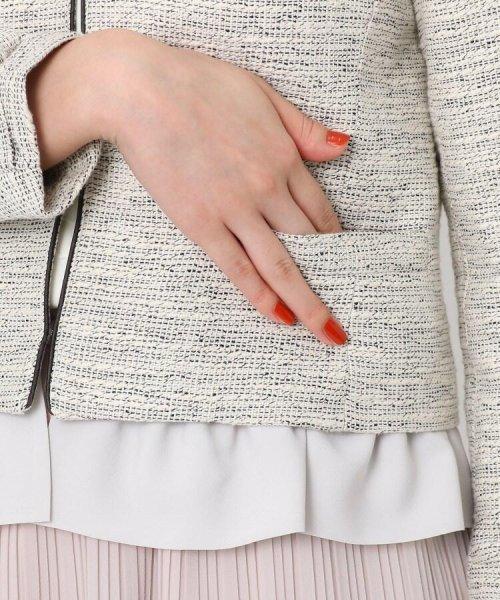 Couture Brooch(クチュールブローチ)/フリル付きノーカラージャケット/20200150848011_img06