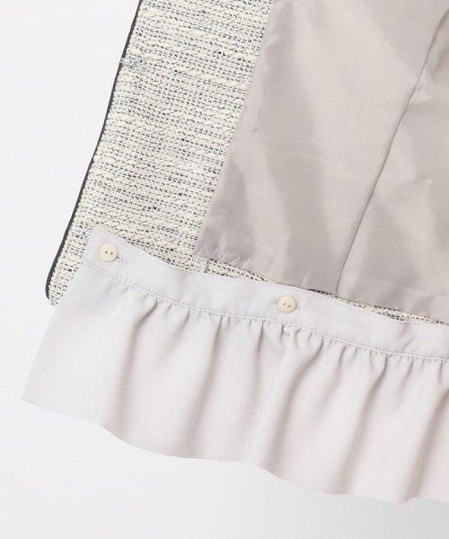 Couture Brooch(クチュールブローチ)/フリル付きノーカラージャケット/20200150848011_img07