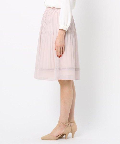 Couture Brooch(クチュールブローチ)/【WEB限定サイズ(LL)あり】プリーツジョーゼットスカート/20200150878021_img02