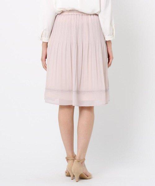 Couture Brooch(クチュールブローチ)/【WEB限定サイズ(LL)あり】プリーツジョーゼットスカート/20200150878021_img03