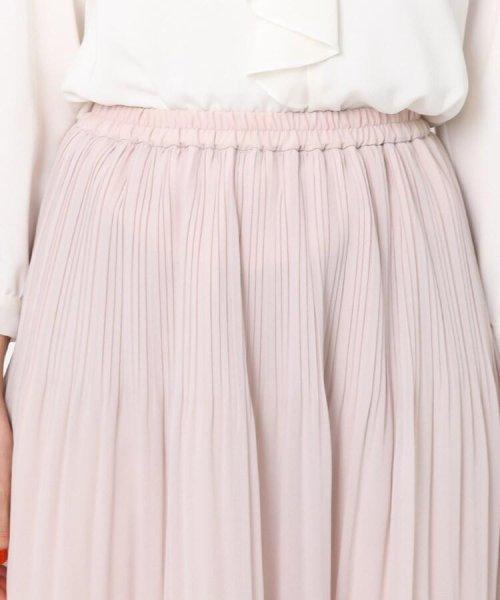 Couture Brooch(クチュールブローチ)/【WEB限定サイズ(LL)あり】プリーツジョーゼットスカート/20200150878021_img04
