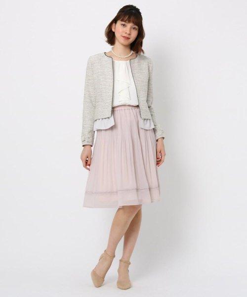 Couture Brooch(クチュールブローチ)/【WEB限定サイズ(LL)あり】プリーツジョーゼットスカート/20200150878021_img07