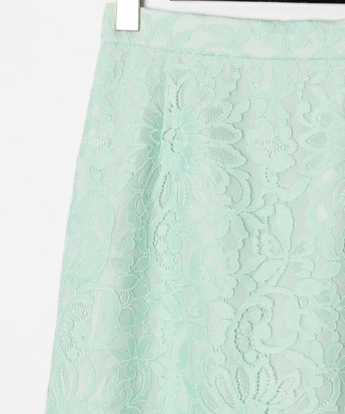 GRACE CONTINENTAL(グレースコンチネンタル)/フラワーレーススカート/0220121082_img04