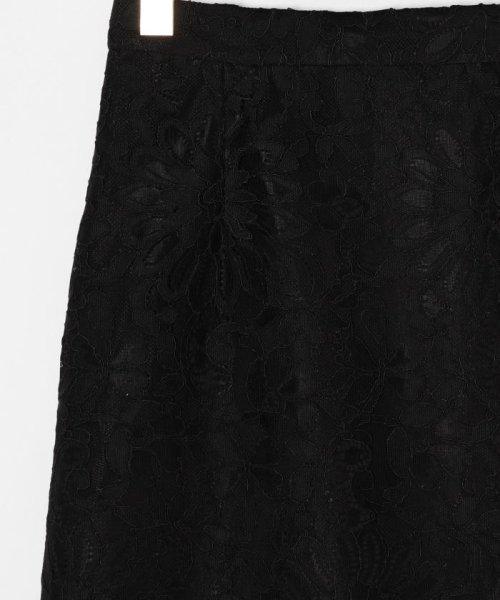 GRACE CONTINENTAL(グレースコンチネンタル)/フラワーレーススカート/0220121082_img09