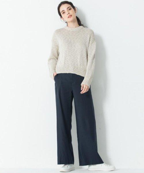 NIJYUSANKU(SMALL SIZE)(23区(小さいサイズ))/【洗える】Vintege Soft Twill ワイドパンツ/PRWSBS0101_img14