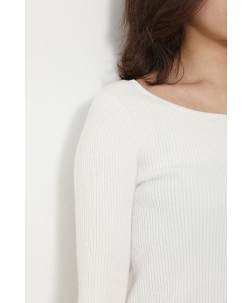 rienda(リエンダ)/Bell sleeve RIB Knit TOP/110DS670-0480_img05