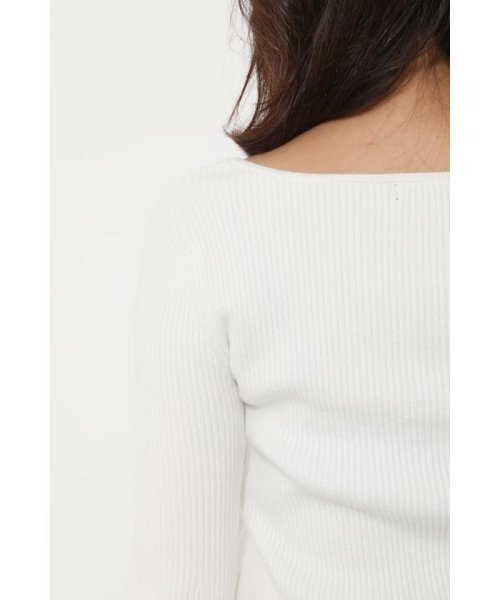 rienda(リエンダ)/Bell sleeve RIB Knit TOP/110DS670-0480_img06