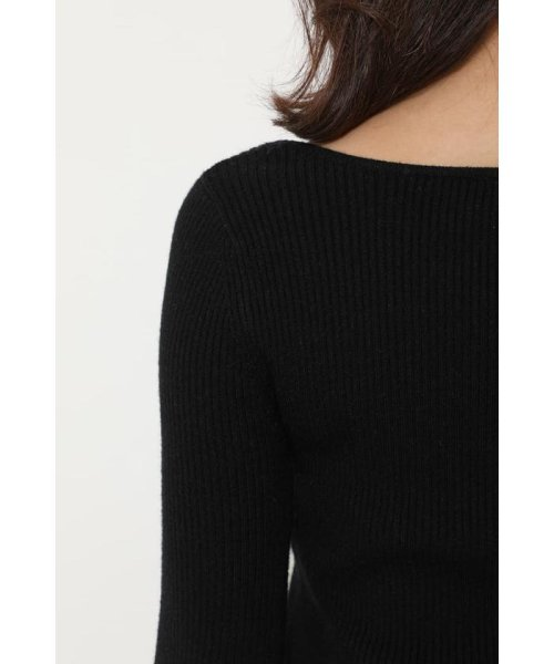 rienda(リエンダ)/Bell sleeve RIB Knit TOP/110DS670-0480_img13