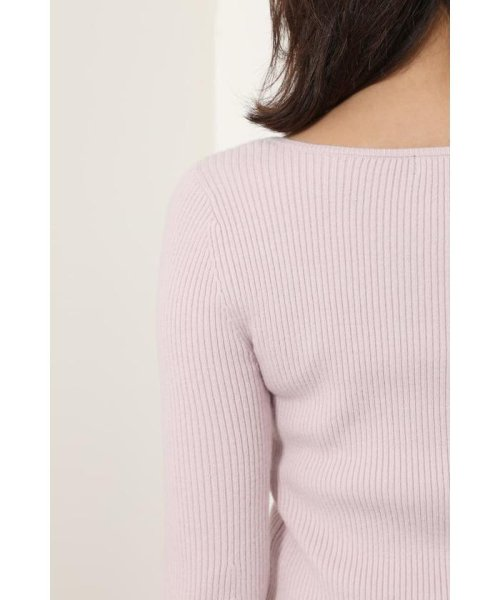 rienda(リエンダ)/Bell sleeve RIB Knit TOP/110DS670-0480_img19