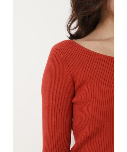 rienda(リエンダ)/Bell sleeve RIB Knit TOP/110DS670-0480_img26