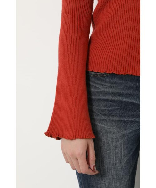 rienda(リエンダ)/Bell sleeve RIB Knit TOP/110DS670-0480_img27