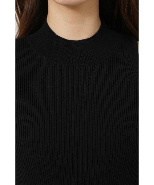 rienda(リエンダ)/Shoulder SLIT Mermaid Knit OP/110DS673-0130_img03
