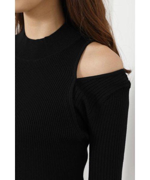 rienda(リエンダ)/Shoulder SLIT Mermaid Knit OP/110DS673-0130_img04