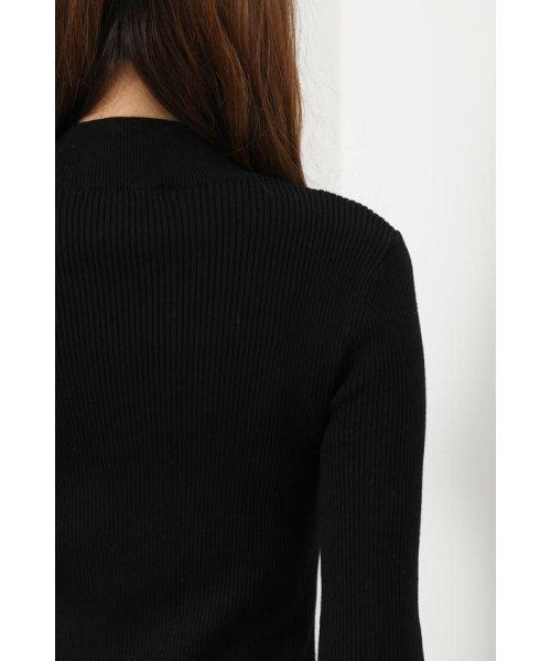 rienda(リエンダ)/Shoulder SLIT Mermaid Knit OP/110DS673-0130_img05