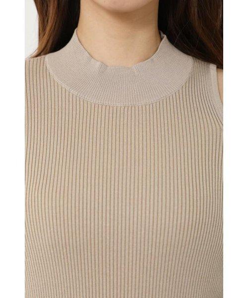 rienda(リエンダ)/Shoulder SLIT Mermaid Knit OP/110DS673-0130_img11