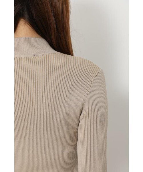 rienda(リエンダ)/Shoulder SLIT Mermaid Knit OP/110DS673-0130_img13