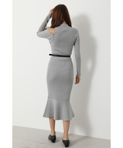 rienda(リエンダ)/Shoulder SLIT Mermaid Knit OP/110DS673-0130_img16