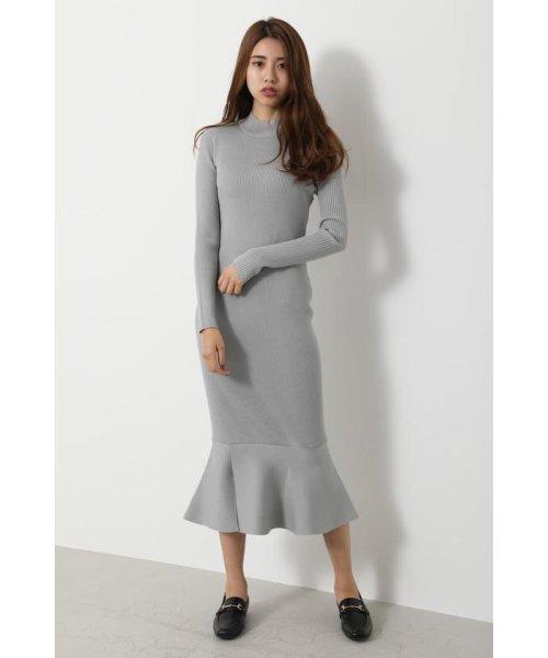 rienda(リエンダ)/Shoulder SLIT Mermaid Knit OP/110DS673-0130_img17