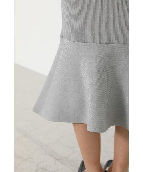 rienda(リエンダ)/Shoulder SLIT Mermaid Knit OP/110DS673-0130_img21