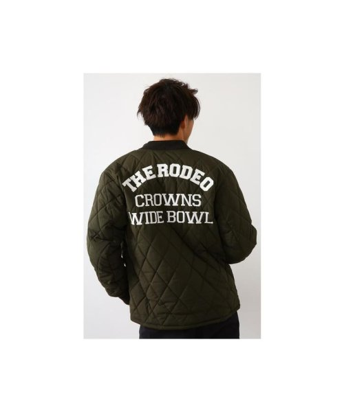 RODEO CROWNS WIDE BOWL(ロデオクラウンズワイドボウル)/キルティングロゴブルゾン/421DSW30-0670_img16