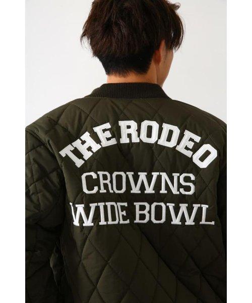 RODEO CROWNS WIDE BOWL(ロデオクラウンズワイドボウル)/キルティングロゴブルゾン/421DSW30-0670_img19