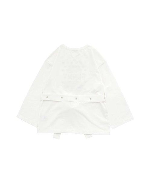JENNI love(ジェニィラブ)/ベルト付きロング丈Tシャツ/02201216_img07