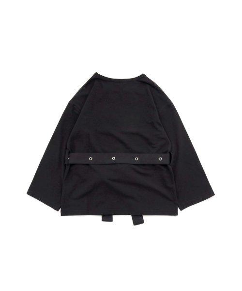 JENNI love(ジェニィラブ)/ベルト付きロング丈Tシャツ/02201216_img09