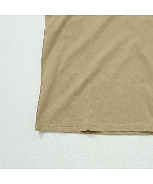 CavariA(キャバリア)/CavariA【キャバリア】USAコットン刺繍入りデザインプリント クルーネック 長袖 Tシャツ/CASB20-04_img08