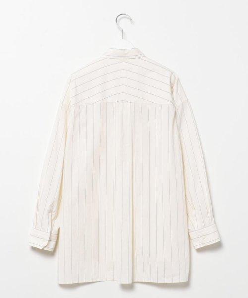 Rie Miller(リエミラー)/レギュラーBigシャツ/0-0037-1-01-001_img01