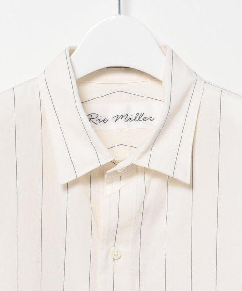 Rie Miller(リエミラー)/レギュラーBigシャツ/0-0037-1-01-001_img02