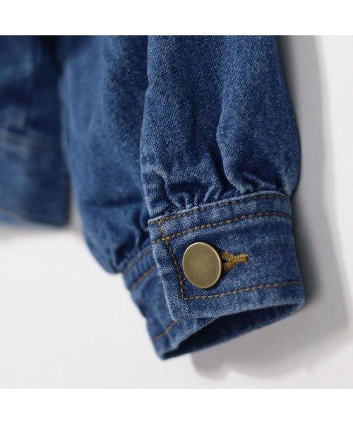 branshes(ブランシェス)/フリルデニムジャケット(90~150cm)/120101052_img10
