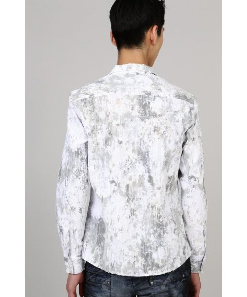 TORNADO MART(トルネードマート)/TORNADO MART∴朧クロコダイルフロッキープリントシャツ/6310173003_img06