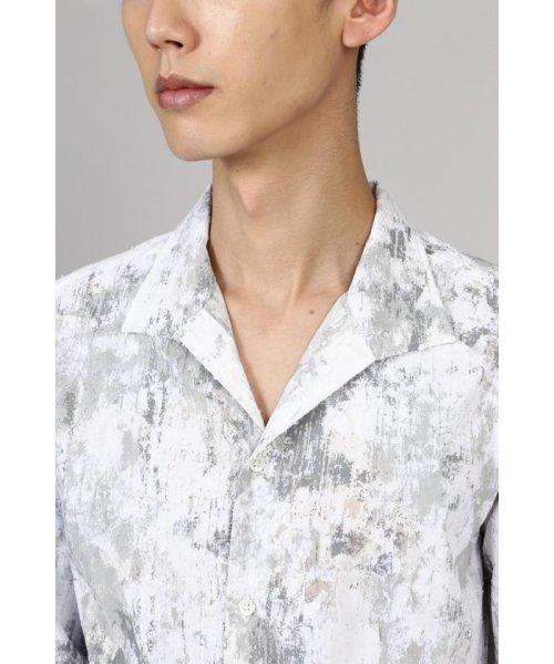 TORNADO MART(トルネードマート)/TORNADO MART∴朧クロコダイルフロッキープリントシャツ/6310173003_img07
