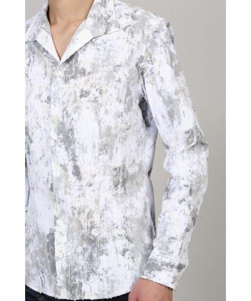TORNADO MART(トルネードマート)/TORNADO MART∴朧クロコダイルフロッキープリントシャツ/6310173003_img08