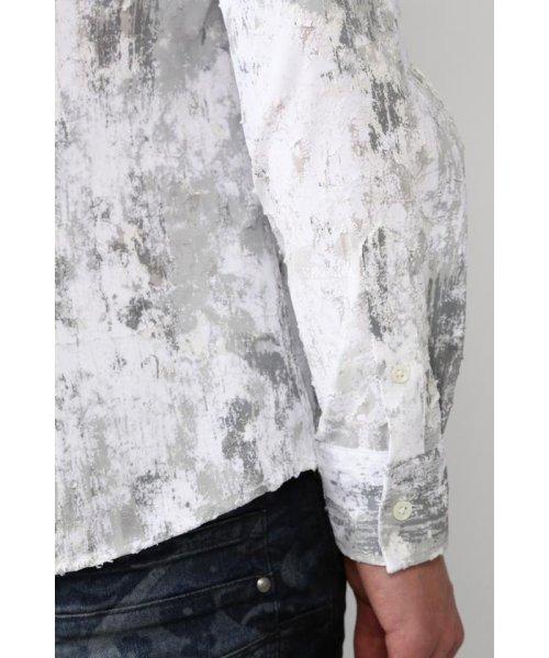 TORNADO MART(トルネードマート)/TORNADO MART∴朧クロコダイルフロッキープリントシャツ/6310173003_img09