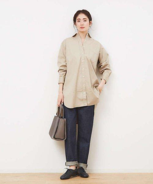 collex(collex)/ツイルチュニックシャツ【予約】/60400205010_img01