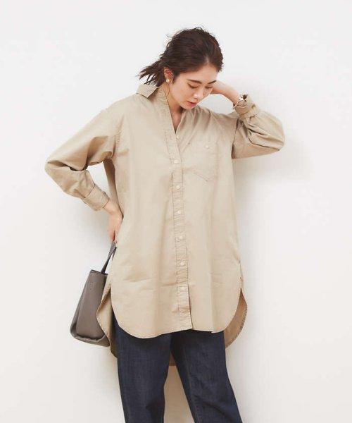 collex(collex)/ツイルチュニックシャツ【予約】/60400205010_img02