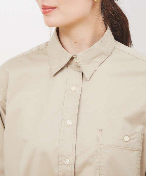 collex(collex)/ツイルチュニックシャツ【予約】/60400205010_img05