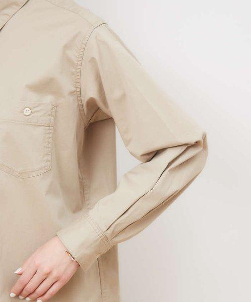collex(collex)/ツイルチュニックシャツ【予約】/60400205010_img06