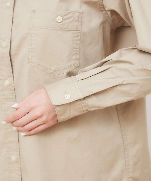 collex(collex)/ツイルチュニックシャツ【予約】/60400205010_img08